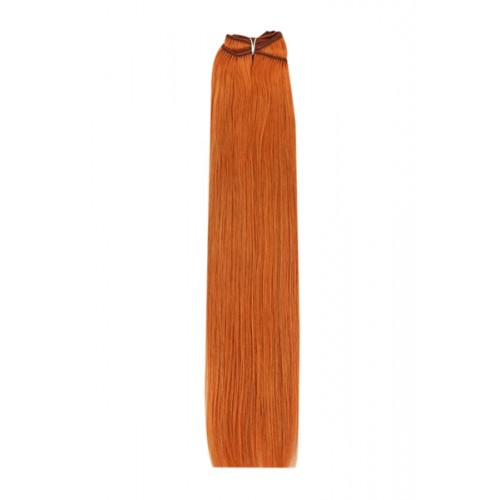 Треса Remy Deluxe, цвят 350 Ginger/Natural Red 52 см